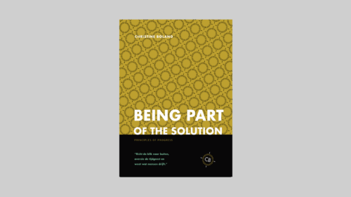 Being part of the solution